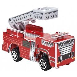 3D-Puzzle Feuerwehren mit Rückziehmotor