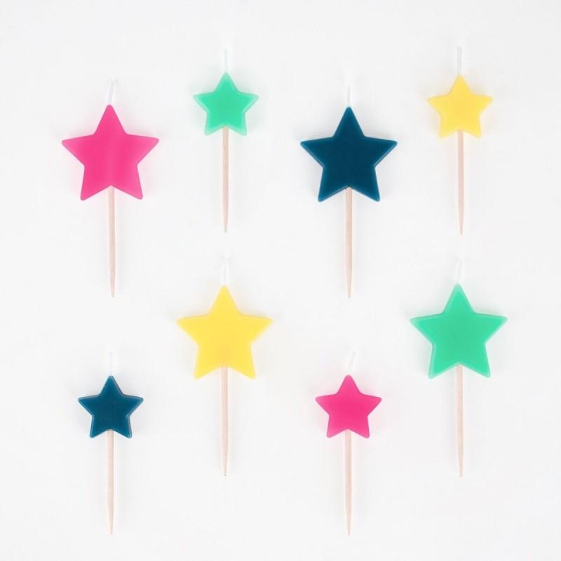 My Little Day - 8 Kerzen Sterne
