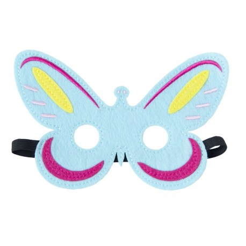 Filz Maske Schmetterling