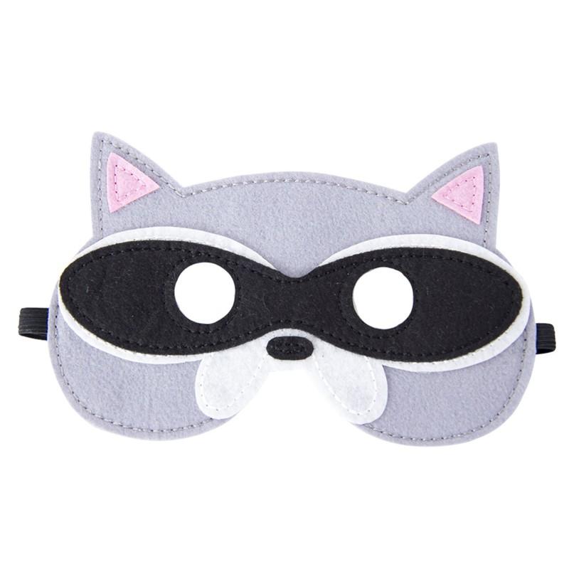 Filz Maske - Waschbär