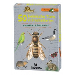 Expedition Natur - 50 heimische Tiere in Stadt & Garten