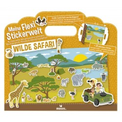 Flexi-Stickerwelt Wilde Safari