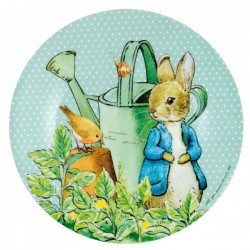 Melamin Teller Peter Rabbit - Peter Hase