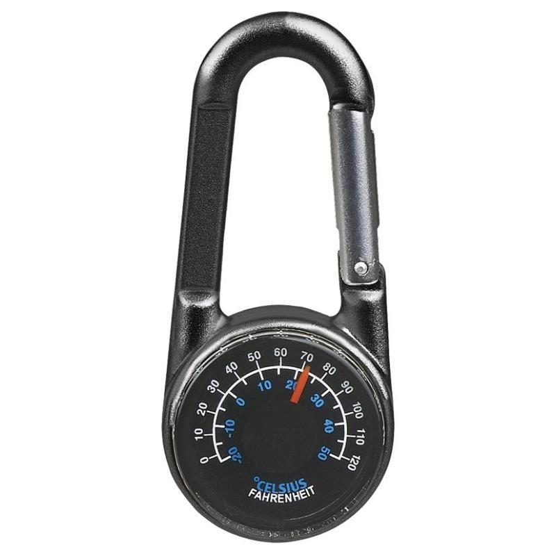 Expedition Natur Thermometer-Karabiner mit Kompass