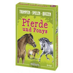 Trumpfen - Spielen - Quizzen Pferde und Ponys