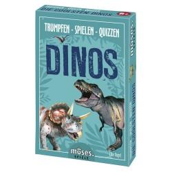 Trumpfen - Spielen - Quizzen Dinos