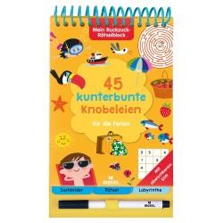 Mein Ruckzuck-Rätselblock - 45 kunterbunte Knobeleien für die Ferien