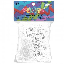 Rainbow Loom® Gummibänder glow in the dark