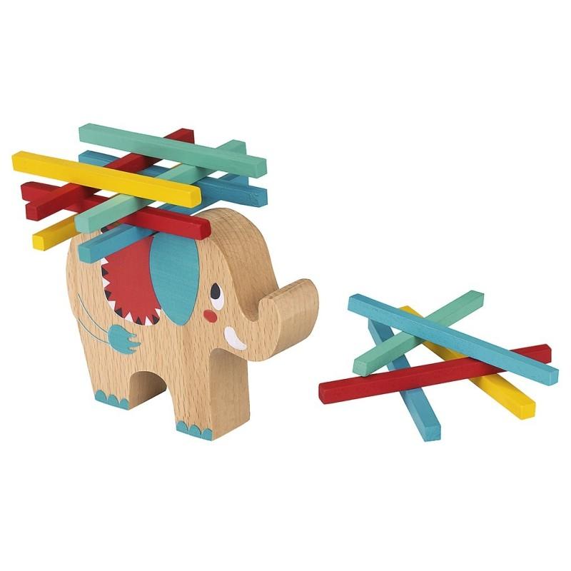 Lustiges Stapeltier Elefant