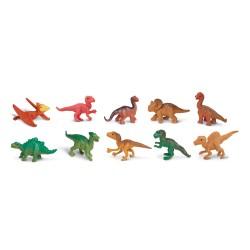 Dinosaurierbabys - Set mit 12 kleinen handbemalten Figuren