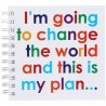 I'm going to change the World… - Notizbuch