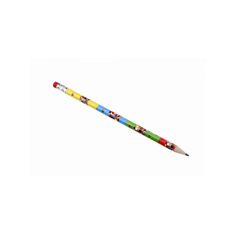 Bleistift Elmar mit Radierer