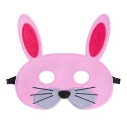 Filz Maske Happy - Hase
