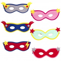 Filz Masken Super Hero
