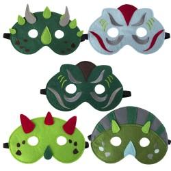 Filz Masken Dinosaurier