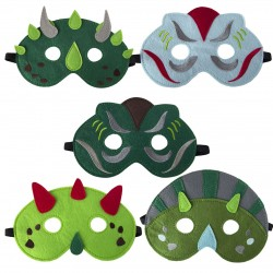 Filz Maske Dinosaurier