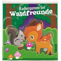 Radiergummi-Set Waldfreunde