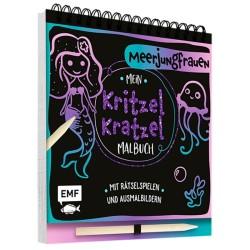 Mein Kritzel-Kratzel-Malbuch Meerjungfrauen