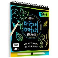 Mein Kritzel-Kratzel-Malbuch Tiere