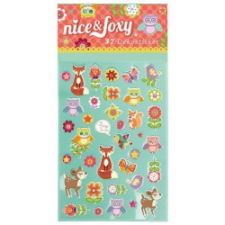 nice & foxy Sticker mit Fuchs, Reh, Eule & Co.