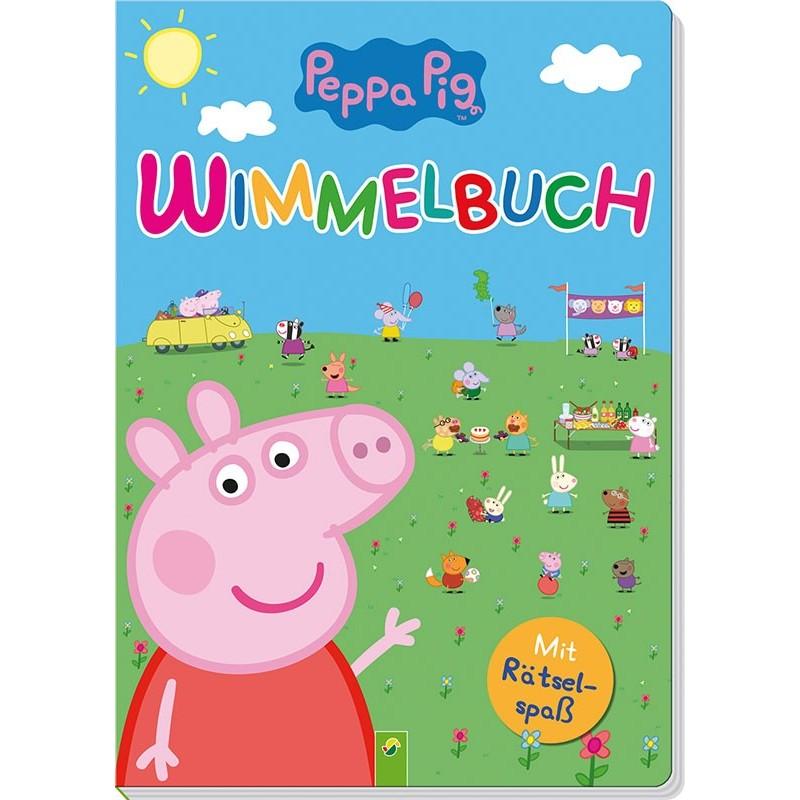Peppa Pig Wimmelbuch mit Rätselspass