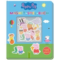 Peppa Pig Magnet-Spiel-Buch - Lernspass mit 16 Magneten