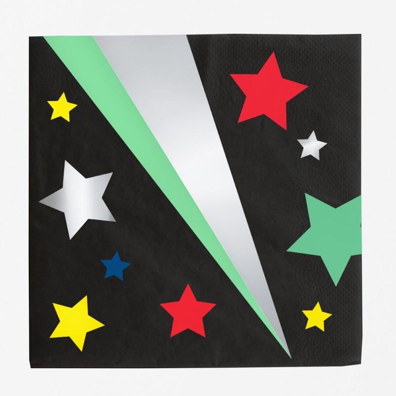 My Little Day - 16 Servietten Sterne - Stars