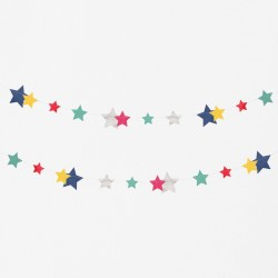 My Little Day - Girlande Sterne - Stars
