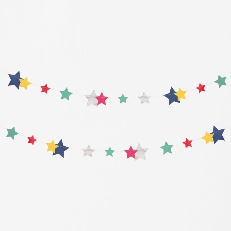 My Little Day - Girlande Sterne - Stars
