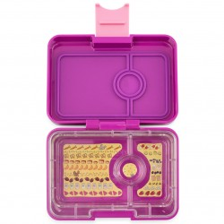 Yumbox Znünibox Mini mit 3 Fächern - Bijoux Purple