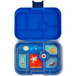 Yumbox Original Znünibox mit 6 Fächern - Neptune Blue
