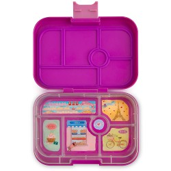 Yumbox Original Znünibox mit 6 Fächern - Bijoux Purple