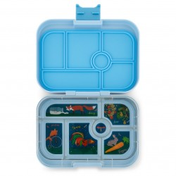 Yumbox Original Znünibox mit 6 Fächern - Luna Blue