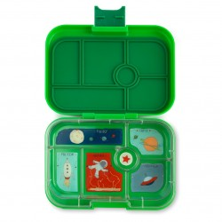 Yumbox Original Znünibox mit 6 Fächern - Terra Green