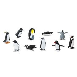 Pinguine - Set mit 12 kleinen handbemalten Figuren