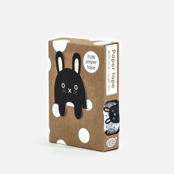 Black & white Masking Tape von Noodoll