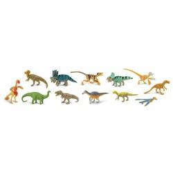 Gefiederte Dinosaurier - Set mit 12 handbemalten Figuren