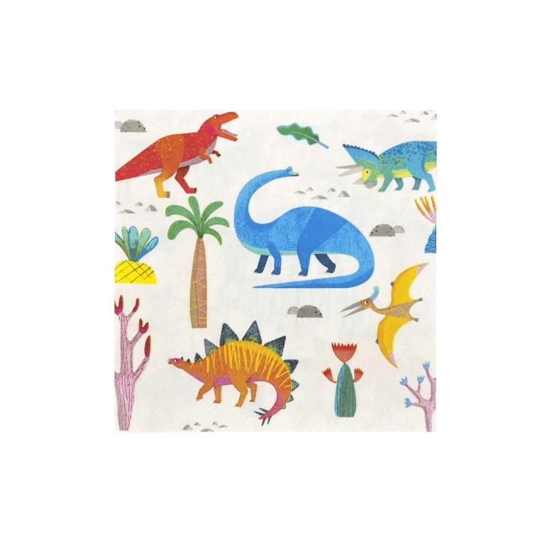 Servietten Dinosaurier - Party Dinosaurier, 20 Stück