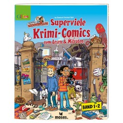 GEOlino Redaktion Wadenbeisser - Superviele Krimi-Comics (Band 1 und 2)