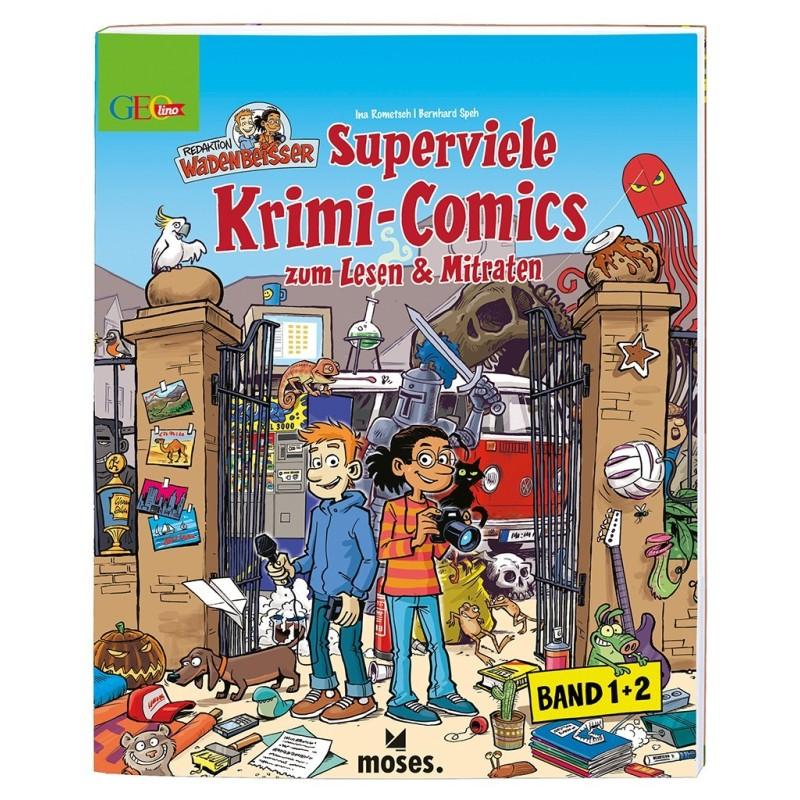 GEOlino Wadenbeisser - Superviele Krimi-Comics (Band 1 und 2)