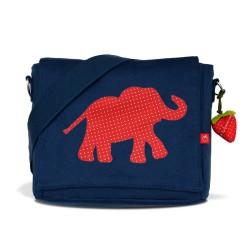 Kindergartentasche Elefant Erdbeer von la fraise rouge