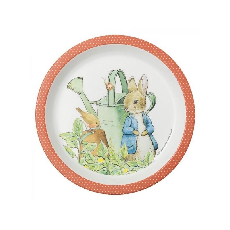 Melamin Teller Peter Rabbit - Peter Hase
