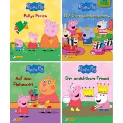Peppa Pig - Peppa Wutz 5-8 - 4 Pixi Bücher