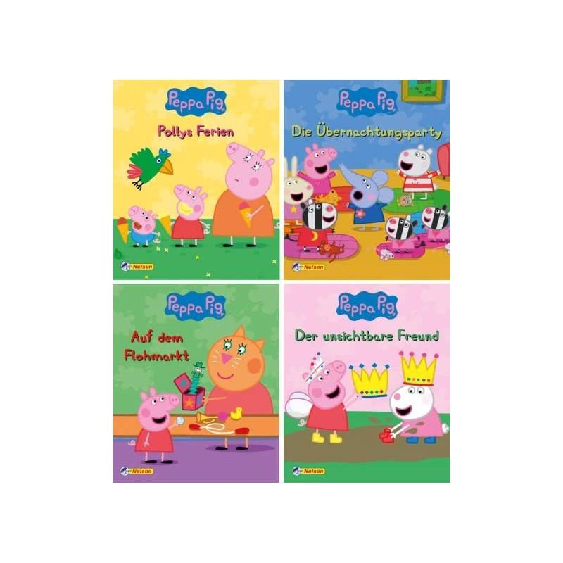 Peppa Pig - Peppa Wutz - 4 Mini-Bücher