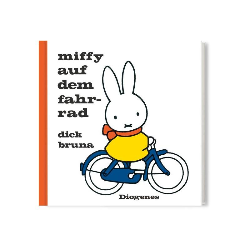 Miffy auf dem Fahrrad von Dick Bruna