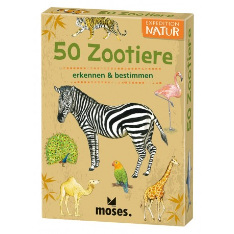 Expedition Natur - 50 Tiere im Zoo