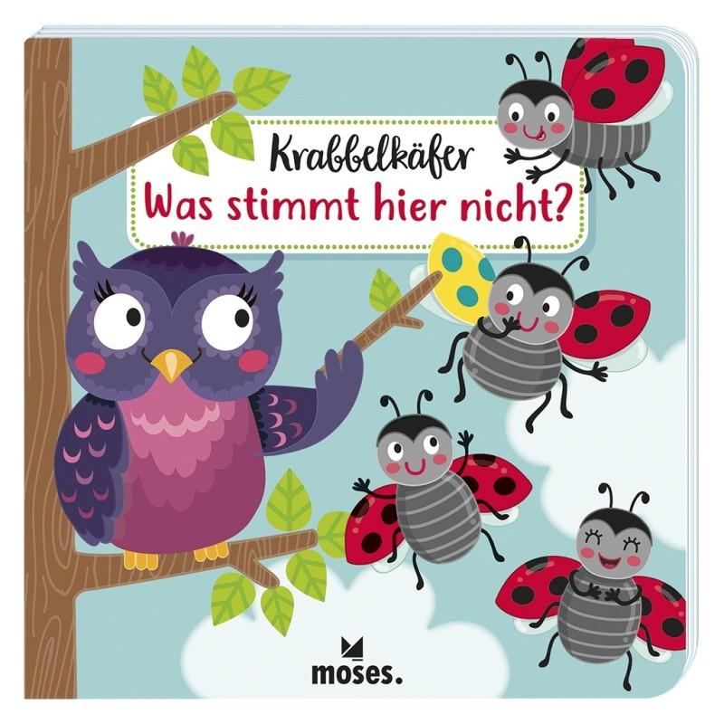 Krabbelkäfer Bilderbuch - Was stimmt hier nicht
