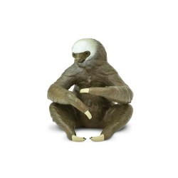 Zweifinger Faultier - Handbemalte Figur