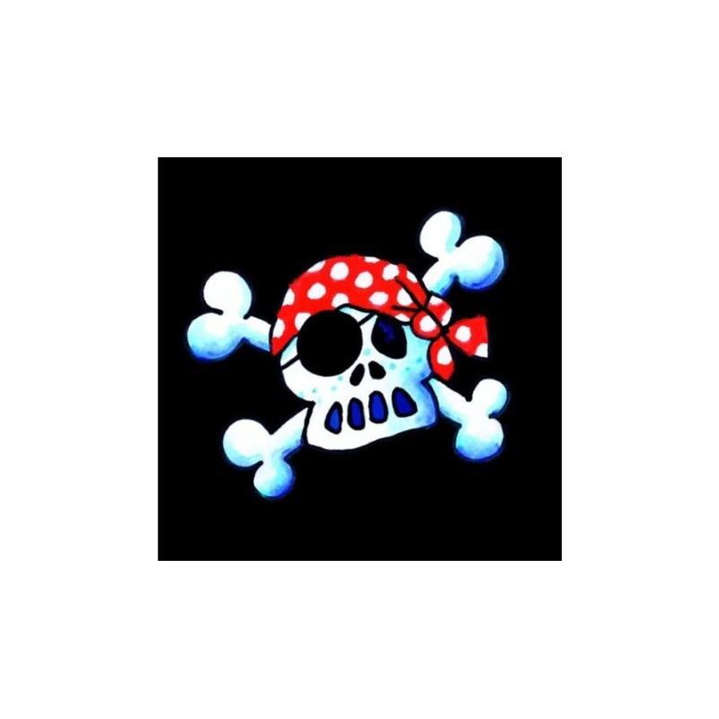 Servietten Piratenflagge Jolly Roger aus dem Lutz Mauder Verlag