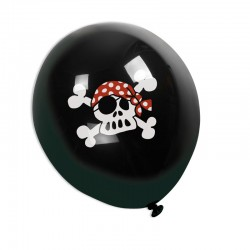 Ballons Piratenflagge Jolly Roger aus dem Lutz Mauder Verlag